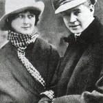 Jesenjin i njegova supruga Isidora Dankan (balerina)