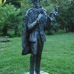 Statua Branka Radičevića na Stražilovu