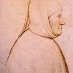 Portret Petrarke delo slikara Aldighieri da Zevio