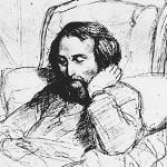 Hajne u bolesničkoj postelji 1851. god.