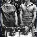 Vera i Matija sa ćerkama Ljudmilom i Oljom
