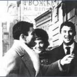 Matija sa Dragoslavom Šekularcem i Oljom Ivanjicki