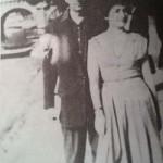 Vasko Popa sa suprugom Hašom