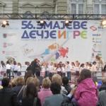 Zmajeve dečije igre održavaju se svake godine početkom juna u Novom Sadu