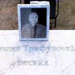 Grob Duška Trifunovića na Čeratskom groblju iznad Sremskih Karlovaca