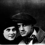 Vladimir Majakovski i Lilya Brik (ljubavnica majakovskog - žena njegovog izdavača)