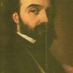 Đura Jakšić - autoportret