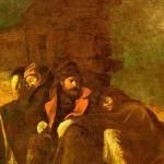 Đura Jakšić, Noćna straža (ulje na platnu). Slika je posvećena javorskim junacima iz srpsko-turskog rata 1876—1878. godine