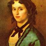 Đura Jakšić, Devojka u plavom (ulje na platnu)
