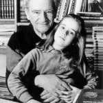 Oskar Davičo sa ćerkom Janom