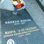 Grob Mire Alečković u Aleji velikana na Novom groblju u Beogradu