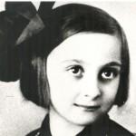 Mira Alečković kao dete (1933)