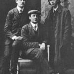 Tin Ujević, Krešo Kovačić i Ljubo Vajsner u Zagrebu, 1911. godine