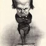 Karikatura Onorea Domijea, na vrhuncu Igoovog političkog života