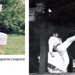 Osnivač, takmičar i prvi predsednik Karate kluba