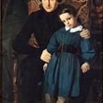 Igo sa svojim starijim sinom Fransoa-Viktorom