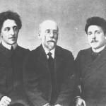 A. Blok, F. Sologub, G. Čulkov (Sant Petersburg 1908. god.)