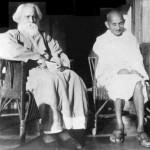 Tagore i Gandi