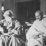 Tagore i Gandi (1940. godine)