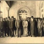 Tagore u poseti Iranskom parlamentu (1932. godine u Teheranu)