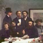 Artur Rembo - drugi s leva (sedi)
