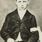 Artur Rembo u vreme njegovog prvog pričešća, starosti 11 godina