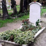 Grob Brodskog na protestantskom groblju u Veneciji (Italija)