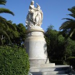 Spomenik Lordu Bajronu koji se nalazi u Atini